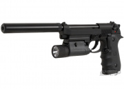 (Discontinued) TSD Tactical M9X Tactical Ops Blowback Pistol Airsoft Gun