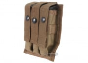 Tru-Spec MOLLE 9mm Triple Magazine Pouch (Coyote)