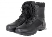 Tru-Spec Zippered Tactical Boots ( Black / Sz 10 )