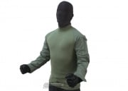 Tru-Spec Combat Shirt (OD Green/M/Long)