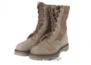 * Discontinued * Tru-Spec Hot Weather Combat Boots (Tan / Sz 12)