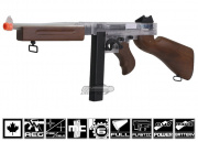 * Discontinued * Fire Power Thompson M1A1 Eco-Line Canadian Legal Airsoft ( Clear )