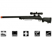 CYMA Full Metal M24 Bolt Action Sniper Rifle Airsoft Gun (BLK/Scope Package)