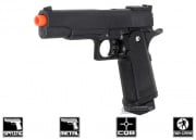 CYMA G6 2011 Limited Class Spring Powered Pistol Airsoft Gun w/ Metal Slide (Black)