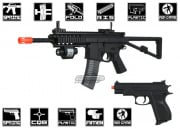 UK Arms PDW P1188 Spring Airsoft Gun Package