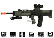 UK Arms L85A2 Rifle Spring Airsoft Gun (Black/OD Green)