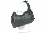 Emerson Tactical Metal Mesh Half Mask w/ Ear Protection (Foliage)