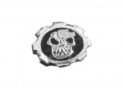 UK Arms Skull Gear Velco Patch