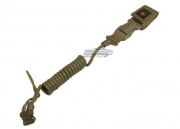 USMC Licensed Tactical Retention Lanyard in ( Coyote Brown )