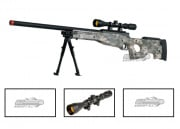 UTG Full Metal MK96 Bolt Action Sniper Rifle Airsoft Gun (ACU/Scope Package/Online ONLY)