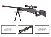 UTG Full Metal MK96 Bolt Action Sniper Rifle Airsoft Gun (Black/Scope Package/Online ONLY)