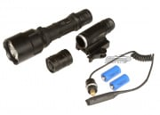 UTG LED Long Distance Flashlight w/ Spot Focus
