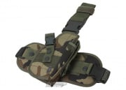 UTG Drop Leg Holster (Woodland)