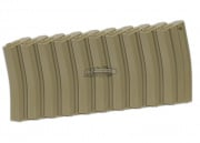Elite Force M4/M16 140 rd. AEG Mid Capacity Magazine - 10 Pack (Tan)