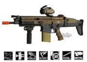 VFC FN Herstal SCAR-H MK17 CQC Airsoft Gun ( 2-tone / Black Lower Receiver )