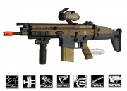 VFC Full Metal FN Herstal SCAR-H MK17 CQC Airsoft Gun ( 2-tone / Black Lower Receiver )