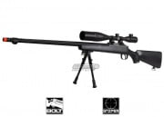Well Full Metal MB07 Bolt Action Sniper Rifle Airsoft Gun ( BLK )