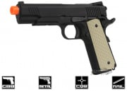 WE Full Metal 1911 5.1 Night Warrior Airsoft Gun ( No Threaded Adaptor / Railed Ver. )