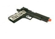 WE Full Metal 1911 Single Stack Latest Edition Ivory Style Grip Airsoft Gun