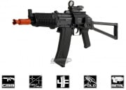 WE Full Metal AK74UN GBB Rifle Airsoft Gun (Black)