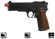 "WE Full Metal ""High Power"" Gas Blowback Pistol Airsoft Gun"