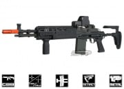 WE Full Metal M14 EBR GBB Rifle Airsoft Gun (Black)