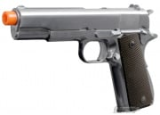 WE Full Metal 1911 Single Stack Airsoft Gun ( Silver )