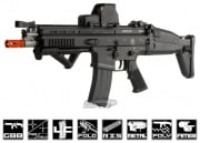 WE Full Metal FN Herstal SCAR Light GBB Rifle Airsoft Gun (Open Bolt/Black)
