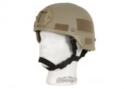 X-Factor MICH 2000 Replica Helmet with NVG Mount (Tan)