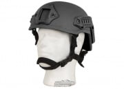 X-Factor MICH 2001 Replica Helmet w/ NVG Mount & Side Rail (Black)