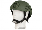 X-Factor MICH 2001 Replica Helmet w/ NVG Mount & Side Rail (OD)