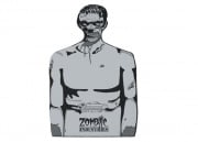 Zombie Industries Outbreak Cardboard Target - Chris