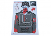 "Zombie Industries Nazi Zombie Colossal Paper Target - 25 Pack (23 x 35"")"
