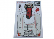 "Zombie Industries Colossal Paper Target 23x35"" - Terrorist Zombie 25 Pack"