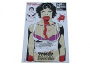 "Zombie Industries Indoor Paper Target 17.5x23.5"" - The Ex Zombie 25 Pack"