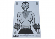 "Zombie Industries ""Chuck"" Zombie Targets Paper Target - 25 Pack (23 x 35"")"