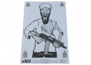 "Zombie Industries ""Osama"" Zombie Targets Paper Target (23 x 35"")"