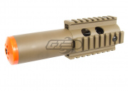 Ares Shorty CQB Front End Kit w /Inner Barrel (Flat Dark Earth) *Non-Retail Package*