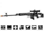 Airsoft GI Custom King Arms Full Metal SVD Dragunov Upgraded AEG Airsoft Gun
