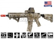 Airsoft GI FMG4-18 Daniel Defense RIS Short Next Gen. Carbine Airsoft Gun ( Hydro-Dipped Desert Digital )