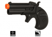 Marushin Derringer Gas Pistol Airsoft Gun (6mm/Black)
