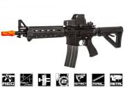 G&G Combat Machine GC16 MOD0 A1 Carbine AEG Airsoft Gun (Black)