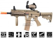 G&G Combat Machine GR4 100Y DST M4 Carbine Blow Back AEG Airsoft Gun (Tan)