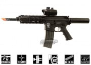 G&G Combat Machine GR16 CQW Wasp M4 Carbine Blow Back AEG Airsoft Gun ( Black )