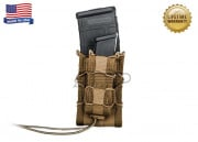 High Speed Gear Double Decker TACO Magazine Pouch (Coyote Brown)