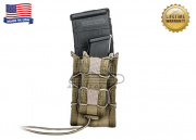 "* Discontinued * High Speed Gear ""Double Decker TACO"" Magazine Pouch ( Khaki )"