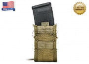 "* Discontinued * High Speed Gear ""TACO"" Modular Single Rifle Magazine Pouch (Khaki)"