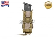 "High Speed Gear ""Pistol TACO"" Single Universal Pistol Magazine Pouch ( Khaki )"
