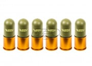 ICS Plastic Grenade Shell Set of 6