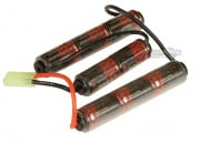 * Discontinued * ICS 9.6v 1500mAh NiMH Crane Stock Battery